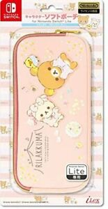 """[licensed products] Soft Pouch for Nintendo SWITCH Lite """"Rilakkuma (Paja..."""