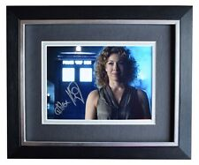 Alex Kingston Signed 10x8 Framed Autograph Photo Display Doctor Who TV AFTAL COA