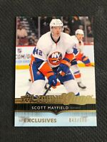 2014-15 UPPER DECK SERIES ONE SCOTT MAYFIELD YOUNG GUNS YG EXCLUSIVES #ed /100