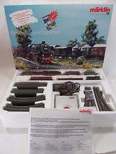 Marklin HO Scale Delta Digital Train Set 2-8-2 Steam Locomotive Engine in C-8 LN