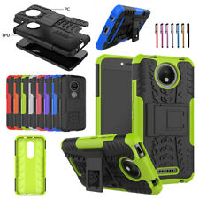 Shockproof Protective Phone Cases with Kickstand Hard Cover for Motorola Moto