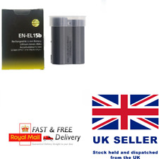 EN-EL15B Battery for Nikon Z6, Z7 Mirrorless D7000 D7100 D7200 UK STOCK