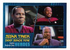 2018 Star Trek Deep Space Nine Heroes & Villains Base Card Set Of 100 cards
