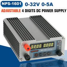🔥 32V 5A Adjustable Digital DC Power Supply Upgraded For Gophert NPS-1601  ,/