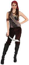 Para Mujer Piratas # de el Caribe Gypsy Lady Fancy Dress un tamaño Disfraz