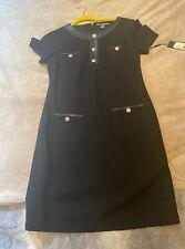 Karl Lagerfeld Black Tweed Dress Brand New!
