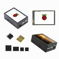3.5 inch TFT LCD Display Touch Screen Monitor w/ Case For Raspberry Pi 3B+ 4B