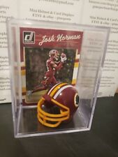 Josh Norman Washington Redskins Mini Helmet Card Shadowbox Collectible Autograph