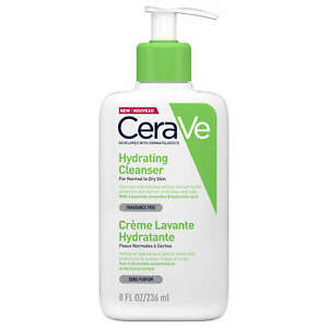 CeraVe Hydrating Cleanser Normal To Dry Skin 236ml Face & Body GENUINE & NEW