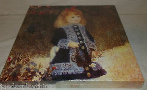 Pierre Auguste Renoir Jigsaw Puzzle GIRL WITH A WATERING CAN 500 Pcs NEW Sealed