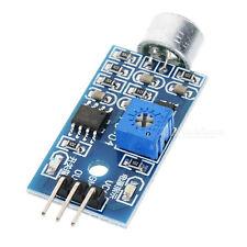 Sound Detection Sensor Module électret Microphone à condensateur Arduino PIC Pi LM393