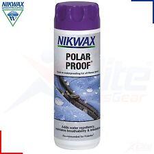 Nikwax Polar Proof Wash in Waterproofing Fleece Jackets Water Repellent 300ml