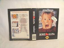 Home Alone -Sega Genesis Art Work Sheet Only!  *original Sega