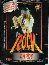 1 ENVELOPE GUNS AND ROSES ROCK CARDS AND STICKERS ARGENTINA 1997