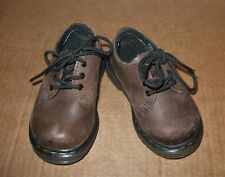 Dr Martens Colby Brown Leather Lace Up Shoes 5 baby toddler 20 Eur