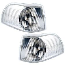 VOLVO V70 MK1 1996-5/2000 FRONT INDICATORS CLEAR 1 PAIR O/S & N/S