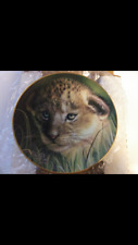 Lion Cub collector plate Qua Cubs of the Big Cats Wildlife Limited Ed.