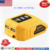For DEWALT DCB090 12V/20V Max USB Charger Replace Power Source Lithium Battery