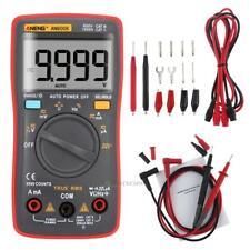 TRUE RMS Digital Voltmeter Ammeter Ohmmeter Multimeter Volt AC DC Tester Meter