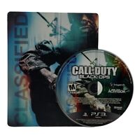 Call of Duty Black Ops Steelbook Edition PS3 CIB PlayStation 3 -Missing manual-