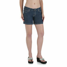 Wrangler Womens Western Rock 47 Ultra Low Rise Shorts - 32 inch - NEW - WHH32MO
