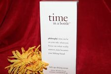 PHILOSOPHY TIME IN A BOTTLE FACE DAILY AGE DEFYING SERUM 1.3 oz FRESH IN BOX