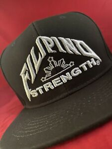 Filipino Champion Hat Philippines Pinoy Pinay Supreme Snapback Strength pacquiao