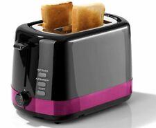 Gourmetmaxx Delux Toaster 850W Krümel Auftau Aufback Stopp Brotaufsatz Violett