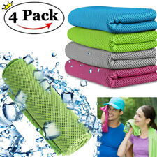Ice Cold Instant Cooling Towel Running Jogging Gym Chilly Pad Sport Yoga Outdoor