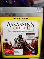 Assassin's Creed II (NO BOOKLET) - PS3 (Sony PlayStation 3) - FREE POST