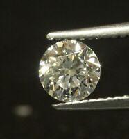 GIA loose certified .44ct VS2 G round brilliant diamond estate vintage