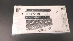 "GUNS N' ROSES ""NOVEMBER RAIN"" MIni CD single Japan 1992 New and Sealed!!"