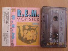 R.E.M. – Monster RARE POLAND CASS TAPE 1994  .FREE SHIPPING