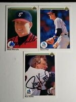 1990 Upper Deck White Sox Auto Lot Autograph Signed Cards Kittle Merullo Pall