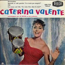 CATERINA VALENTE EN ITALIEN PERSONALITA FRENCH ORIG EP JO BOYER