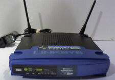 Linksys Wireless G Broadband Router / 10/100 4-Port Switch WRT54G V8