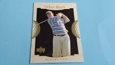 2001 UPPER DECK GOLF DUDLEY HART VICTORY MARCH CARD #155