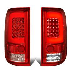 For 04 to 08 Ford F150 Lobo LED C-Tube Bar Tail Brake Light Reverse Lamp Red
