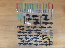 Lego Star Wars Minifigure Accessories . Lighsabers, Guns and Blasters .