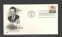 1969 PRESIDENT RICHARD M NIXON INAUGURATION First Day Cover