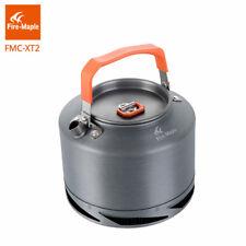 Heat Exchange Kettle Coffee Tea Pot 1.5L with Tea Filter for ourdoor Pinic
