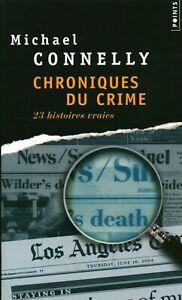 Livre Poche chroniques du crime M. Connelly 2007 Seuil book