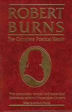 Robert Burns, the Complete Poetical Works by Robert Burns (Hardback, 1993)