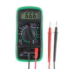 LCD Digital Multimeter Current Volt Ammeter OHM Meter Tester Lead XL830L