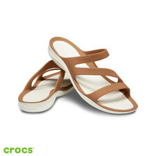 Crocs Swiftwater Sandals Beach Holiday Graphic Open Toe Strap Womens sz choose
