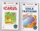 stock 2 libri la spiga easy english bambini 6-8 anni -pulci con gli occhiali 8eu