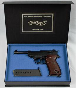 PISTOL GUN PRESENTATION CUSTOM DISPLAY CASE BOX for WALTHER P38 P1 mauser pp ppk