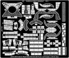 WHITE ENSIGN MODELS 1/200 Bismarck Perforated Decking & Catwalks for TS WEM2018