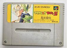 Genuine Dragon Ball Z: Super Butoden for Nintendo Super Famicom JAPANESE TESTED