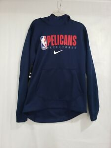 NIKE New Orleans Pelicans SPOTLIGHT HOODIE NBA TEAM Player ISSUE AV1364-419 Med